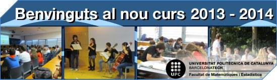 Benvinguts curs 2013-2014