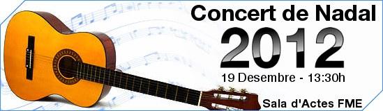 Benvingut_concert Nadal 2012