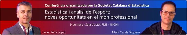 Conferència: Estadística i anàlisi de l'esport