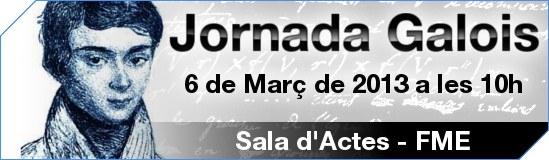 Benvingut_Jornada Galois 2013