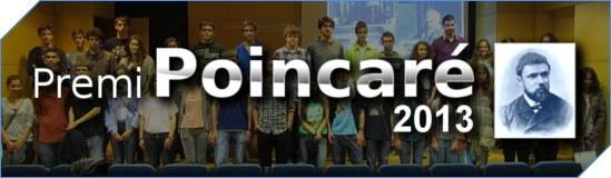 benvingut_lliurament Poincaré 2013