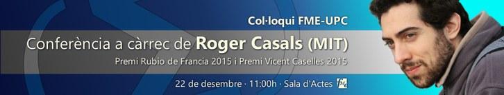 Conferència Roger Casals