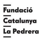 logo fundació Catalunya la Pedrera blanc