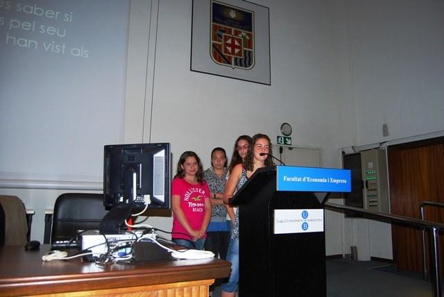 Presentació del treball guanyador 1r i 2n ESO