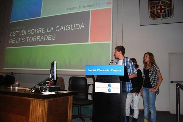 Presentació del treballs guanyadors 3r i 4t ESO (ex-aequo)