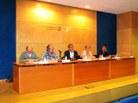 Taula presidencial amb els membres del Jurat del Premi