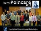 Foto de grup de tots els premiats Poincaré 2012