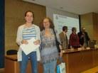 Menció: Clara Cufí i la tutora Teresa Cervelló de l'IES Angeleta Ferrer i Sensat de Sant Cugat del Vallès