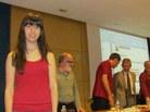 Menció: Irene Díez, de l'Escola Pia de Sabadell