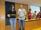 Tercer premi ex aequo: Ariadna Carles i el tutor Pere Mata de l'IES Sa Palomera de Blanes
