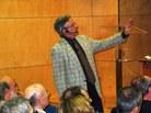 La lliçó inaugural del curs Fisher va anar a càrrec de Daniel Peña, catedràtic d'Estadística i rector de la Universitat Carlos III de Madrid