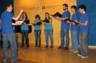 Interpretant l'Hallelujah de L. Cohen sota la direcció de Xavier Ramos