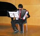 Jaume Pujantell amb l'acordió