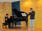 Arnau Planas (tible) i Eduard Almacellas (piano)