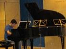 Eduard Vàzquez al piano