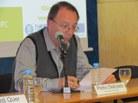Presentació de la ponent a càrrec de Pedro Delicado