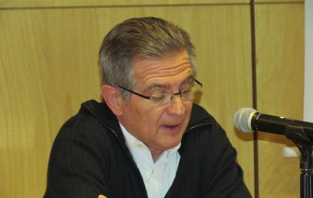 Presentació del primer ponent a càrrec de Xavier Tort-Martorell, director del DEIO