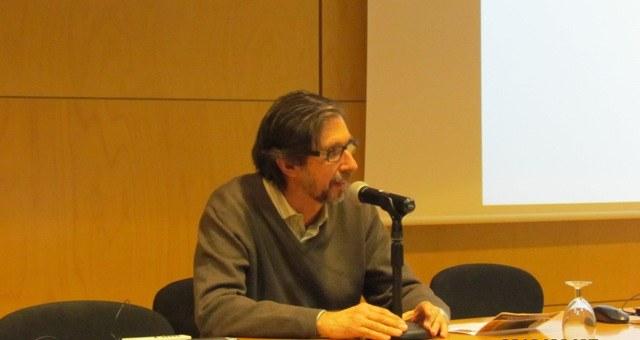 Presentació del tercer ponent a càrrec de Jordi Ocaña, director de la Summer School de l'FME