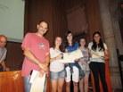 1er Premi categoria 1r i 2n ESO al treball: Coordinació dels cicles menstruals, de l'INS Sant Quirze del Vallès