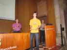 Menció categoria Batillerat al treball: La preocupació dels catalans per la salut, de l'Escola IPSE de Barcelona
