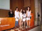 Menció premi Planter-Idescat al treball: What time is it? de l'INS Sant Quirze del Vallès
