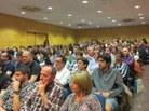 Els assistents van omplir la sala d'actes de l'FME
