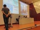 Intervenció de Pedro Delicado des de Califòrinia via Skype
