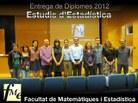 Foto estudis Estadística 2012
