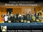 Foto estudis Matemàtiques 2012