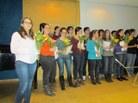 Tots els estudiants participants al concert