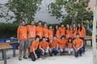 L'equip dels estudiants col·laboradors de la festa