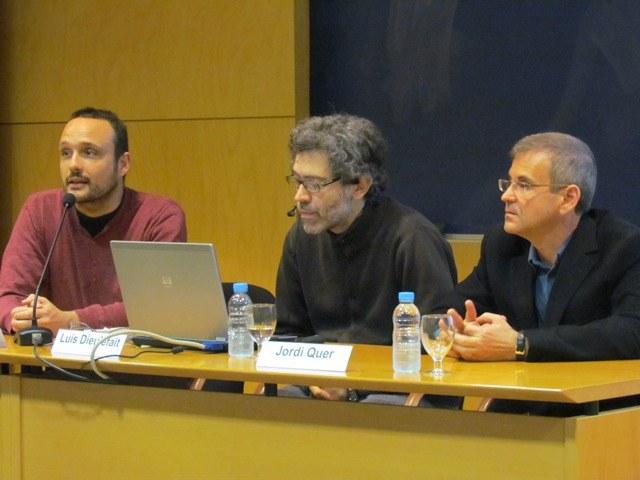 Presentació del primer ponent, Luís Dieulefait