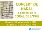Cartell Concert Nadal 2013