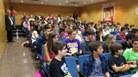 Els assistents al lliurament de la 1a Copa Cangur (adreçat a 1r i 2n ESO)