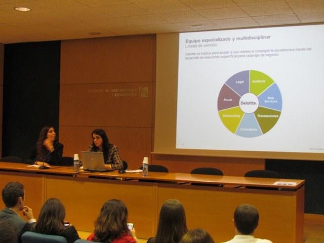 Presentació empresa Deloitte