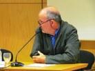 Joan Solà-Morales, professor de Matemàtiques i president de la Societat Catalana de Matemàtiques presenta el ponent