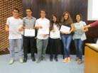 1r premi categoria Batxillerat i CCFF