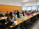 Alumnes de 4t d'ESO de l'IES Maragall de Barcelona