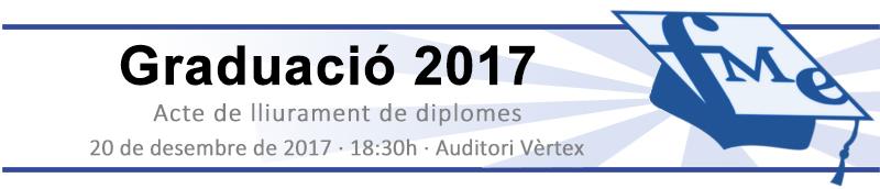 Capçalera Diplomes 2017