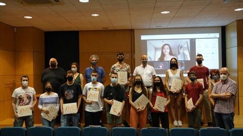Acte reconeixement – guardonats i guardonades Premis Poncaré 2021: breu ressenya i àlbum de fotos