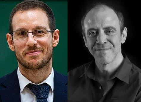 """Alessio Figalli i Xavier Cabré obren el cicle """"El futur de les matemàtiques"""""""