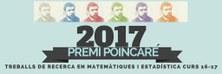 Aquest divendres 19 de maig, lliurament del 14è Premi Poincaré 2017 al millor treball de recerca de Batxillerat en matemàtiques