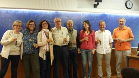 El professor Josep Ma Brunat s'acomiada de l'FME