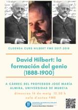 """""""David Hilbert: la formación del genio (1888-1900)"""": conferència de cloenda Any Hilbert FME"""