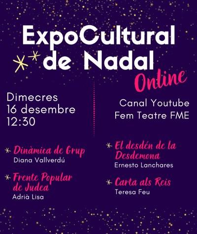 Expocultural de Nadal del grup FEM TEATRE FME