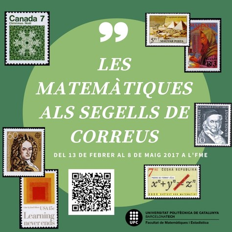 """Exposició """"Les Matemàtiques als segells de correus"""""""