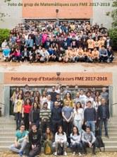 Fotos de grup de Mates i Estadística 2018