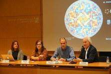 Gravació i fotos del Col·loqui FME-UPC a càrrec d'Ángeles Serrano