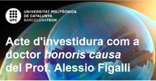 Cerimònia d'investidura del Prof. Figalli com a doctor honoris causa per la UPC