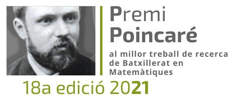 Ja ens estan arribant inscripcions i treballs per al Premi Poincaré 2021 al millor TR en Matemàtiques però en volem més!